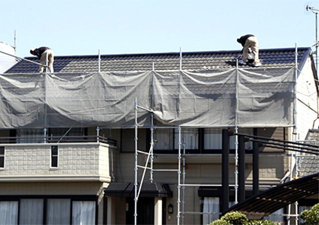 雨漏りは枚方の【有限会社フジシール】にお任せ!屋根の修理や天井の修繕にも対応!